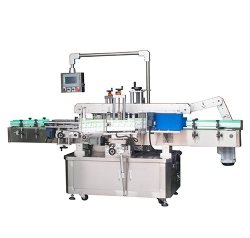 Double sided labeling machine