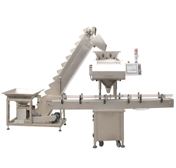 CCD single head counting machine + lift