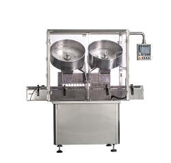 Disc counting machine