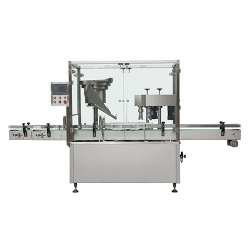 Double head capping machine