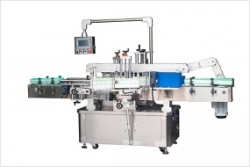 Double-sided labeling machine