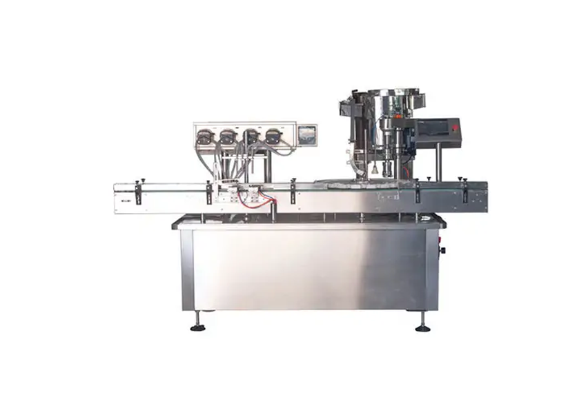 Four-single-rotary-machine