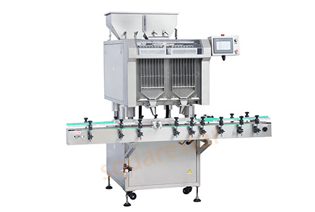 Automatic capsule counting machine