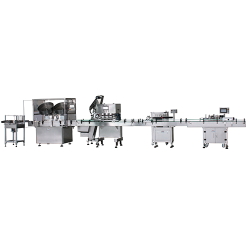 Disk packing line